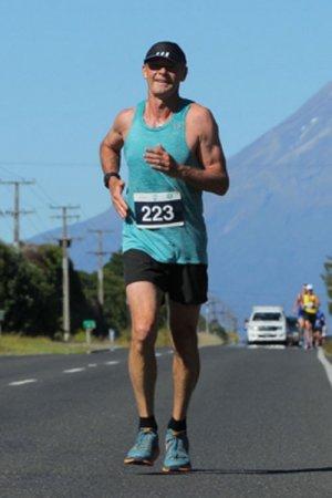 Tony Running Marathon
